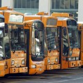 piazale con bus